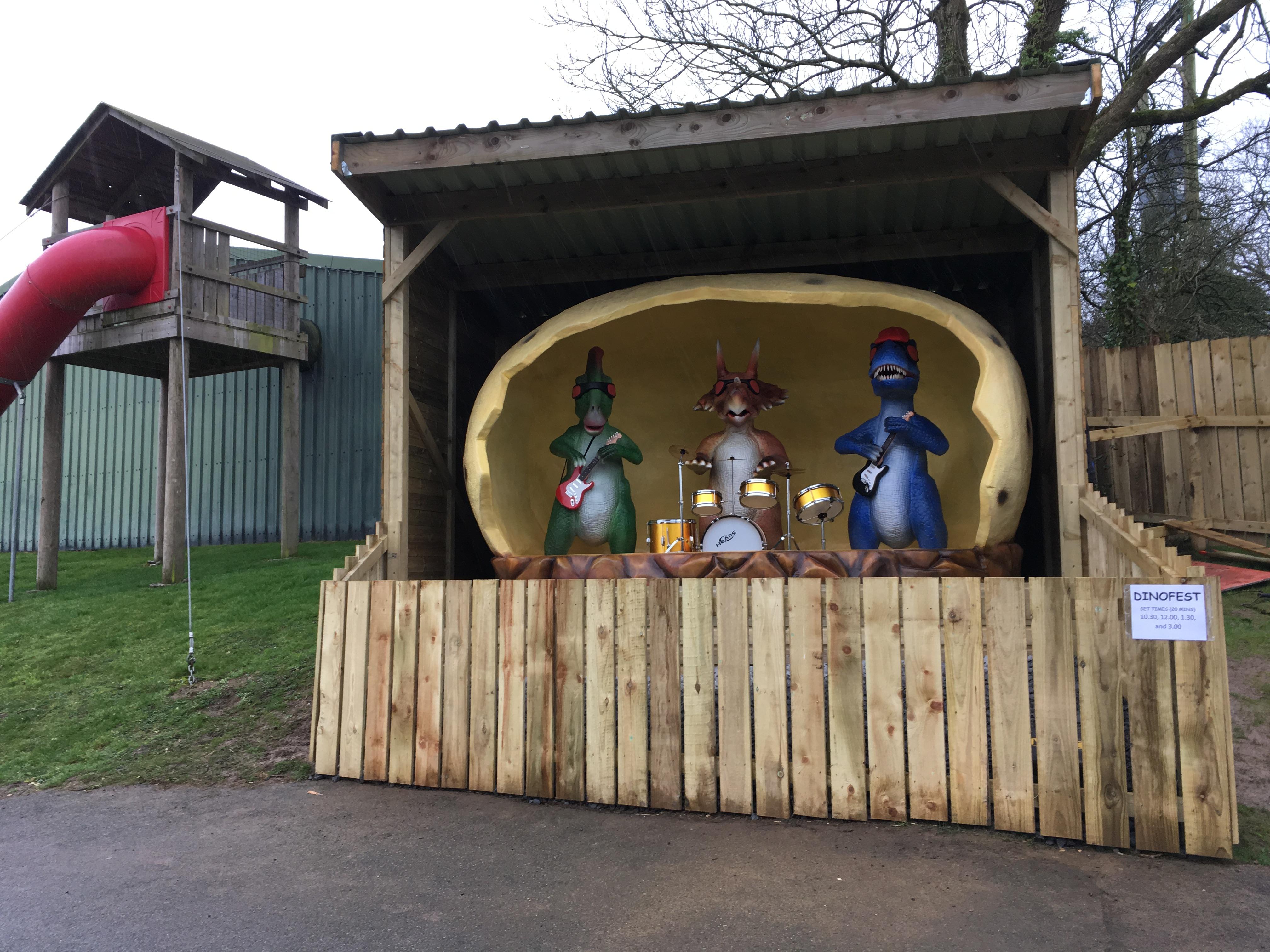 Dinofest Dinosaur Park Tenby